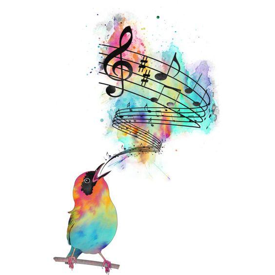 ציפור הנפש עולם המוסיקה מוזיקה צלילים מבפנים